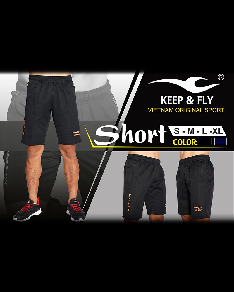 quan short keep fly kf den